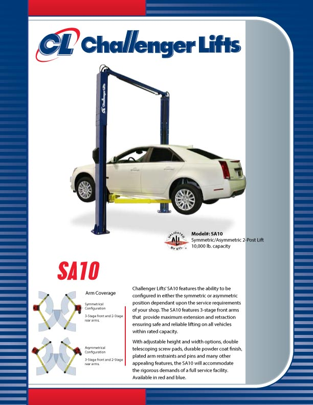 Challenger lift manual array challenger lifts sa10 for sale in southwest mo american auto equipment rh americanautoequipment com fandeluxe Choice Image